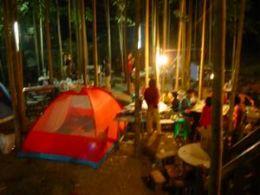 戶外露營,晚上氣氛也很棒吧!!