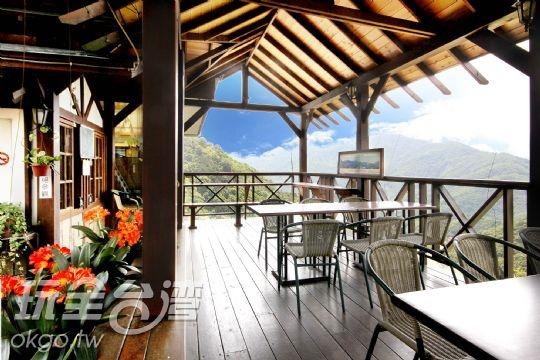 景觀露天餐廳-下午茶時間,讓你捨不得離開