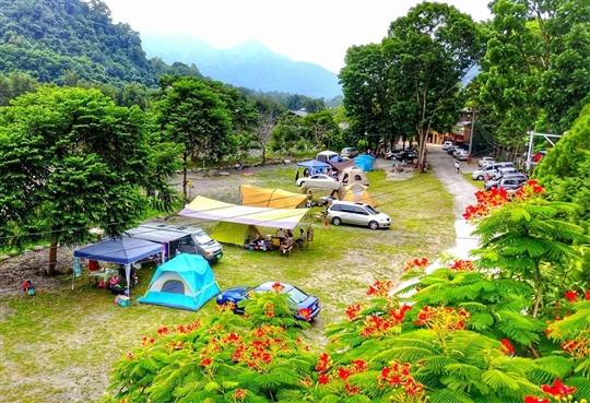 國姓神仙島休閒山莊-露營區