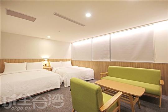 台北西門町捷運站旅店‧囍閱文旅(原金麗麗旅店)