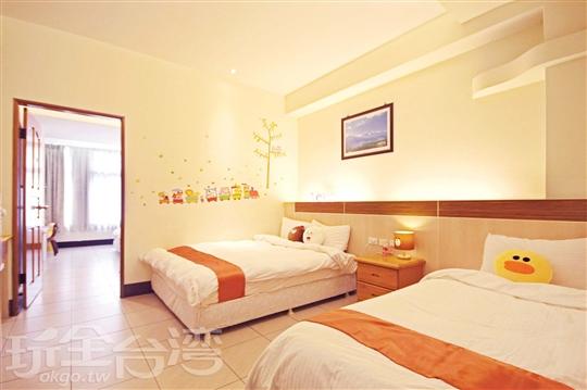 溫馨舒適的客房