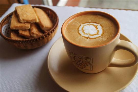 拉拉山谷點咖啡民宿