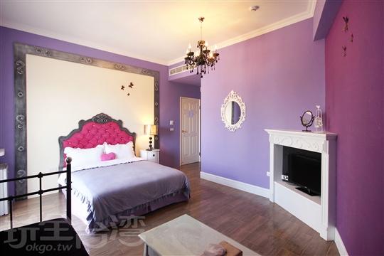 紫艷雙人房