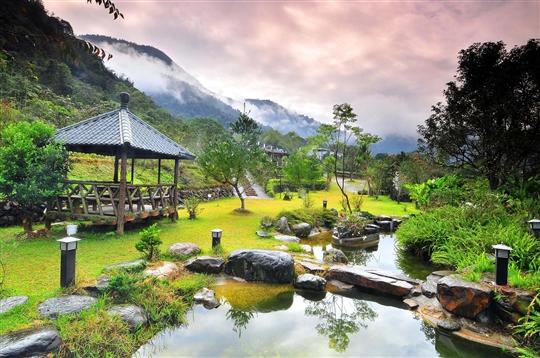 廣大的庭園景觀
