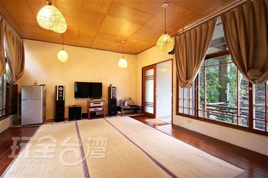 道地的日式家庭通鋪房