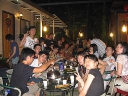陽明醫學院雲饌庭園舉辦同學會