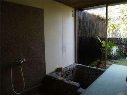 我們的香草藥浴浴池