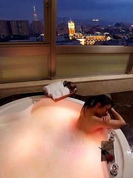 俯瞰台北夜景