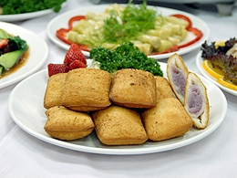 香酥山藥餅