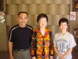 前副總統呂秀蓮女士蒞臨住宿