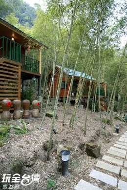 六分生態園區小木屋