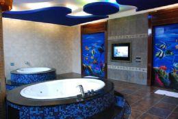 超大空間-獨特雙浴缸設計