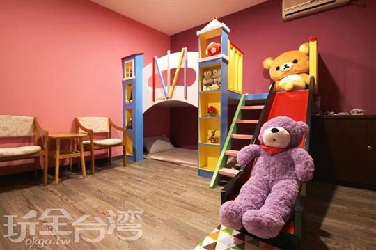 親子溜滑梯房(提供4~6人房型)