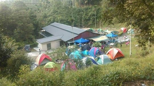 日月潭香菇寮小吃露營