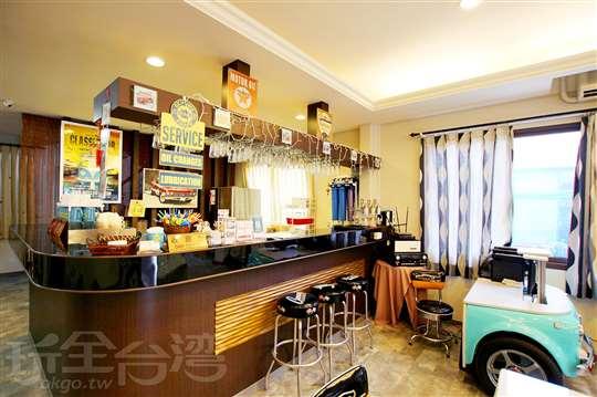 北埔老街‧北昇民宿‧復古車莊園咖啡館