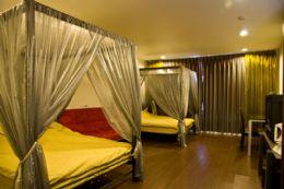 2-1四人房+沙發床