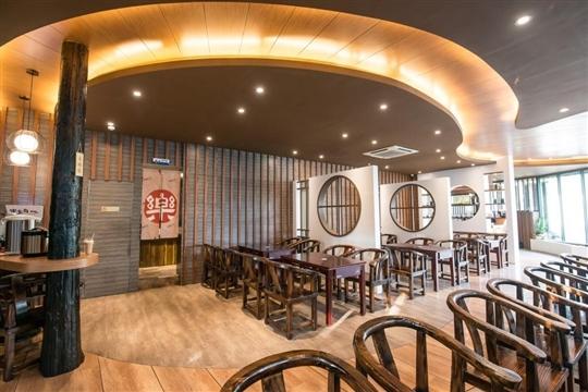 埔里餐廳‧樂食府人文茶館