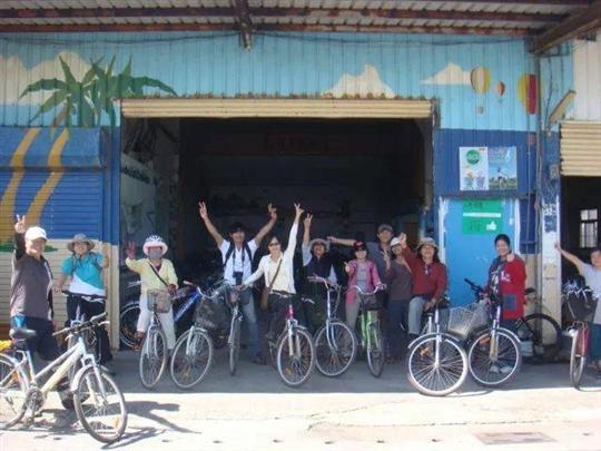 台東琵琶湖自行車出租