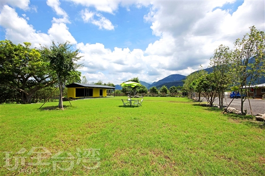 埔里露營住宿‧綠野森林農場