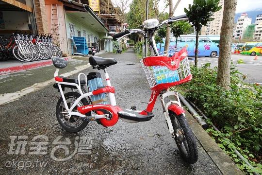 電動自行車(日月潭自行車出租-安心騎)