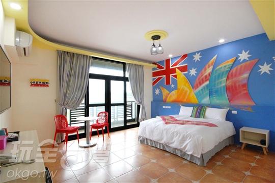 墾丁住宿‧原漾旅店 Kenting Aqual Inn