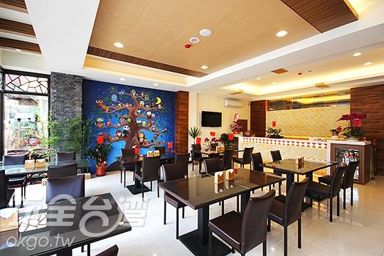 日月潭原宿旅店-用餐區