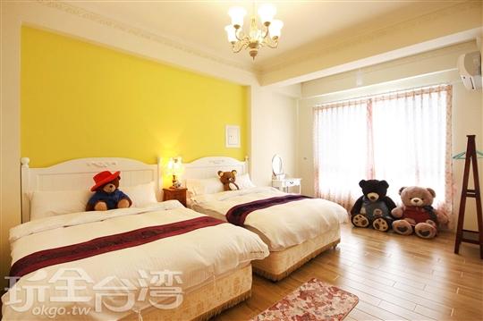 墾丁民宿‧Bear house 熊麻吉主題民宿