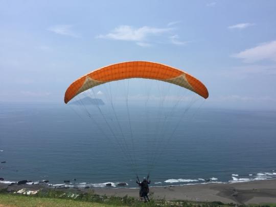 宜蘭.飛行傘基地