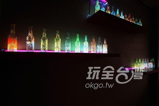 禾風旅棧夢幻星空瓶