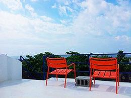 幸福海1館-頂樓海景陽台