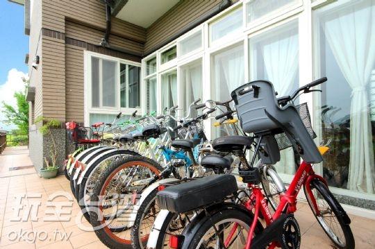 提供腳踏車