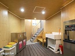 茶水間&垃圾區&吸菸區(皆位於二樓)