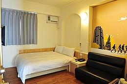 標準單床二人房
