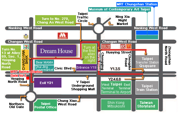 Traffic Information-Dream House, 5-Star Hotel Business Suite