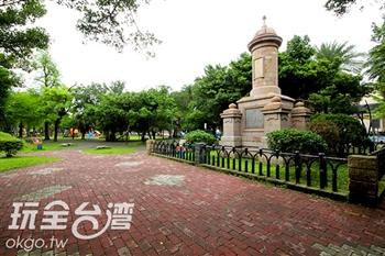 獻馘碑(宜蘭中山公園)