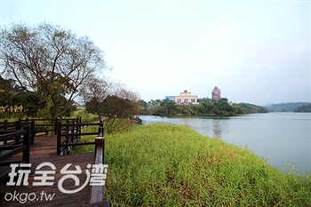 峨眉湖環湖步道