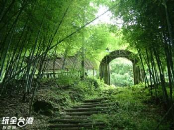 大石壁(大鞍竹海風景區)
