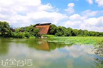 東勢林業園區荷花池