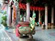 五龍宮媽祖石雕
